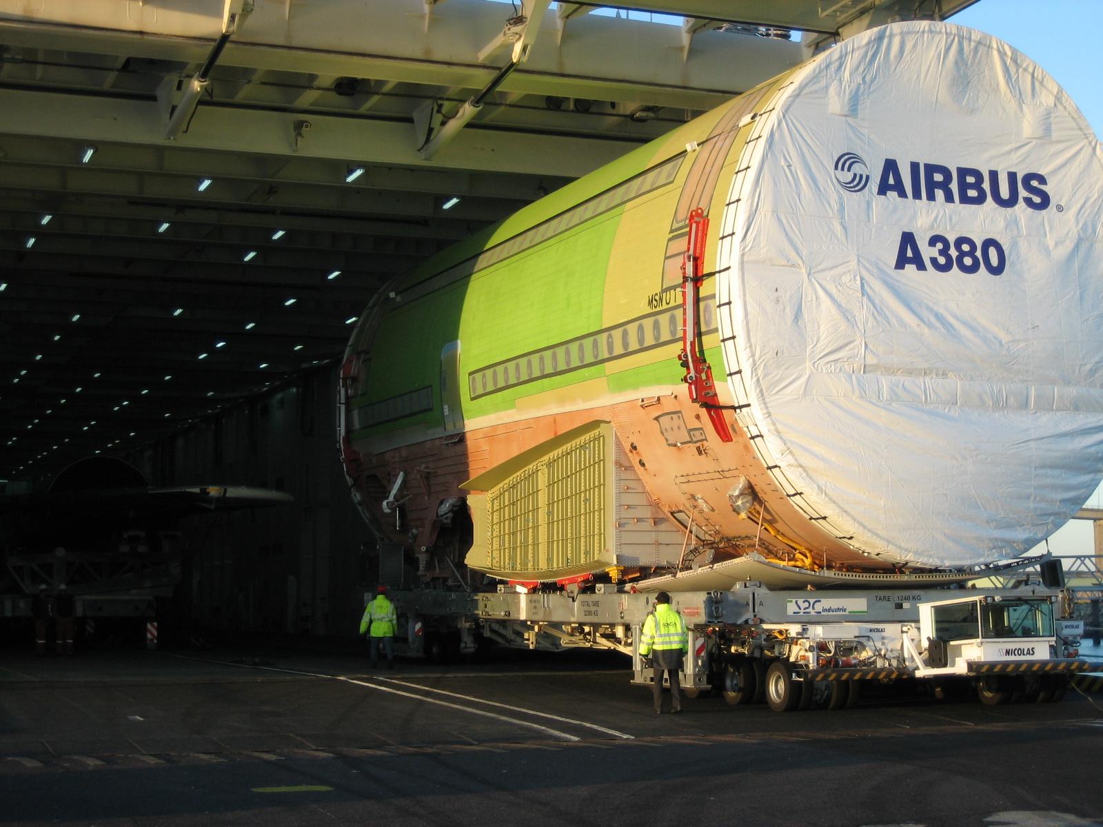 Airbus A380 Ville de Bordeaux