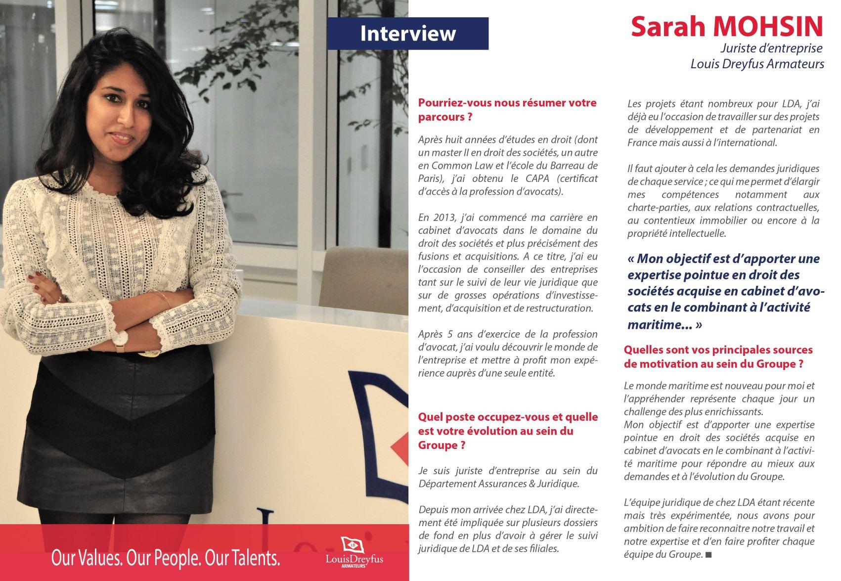 Sarah Mohsin LDA