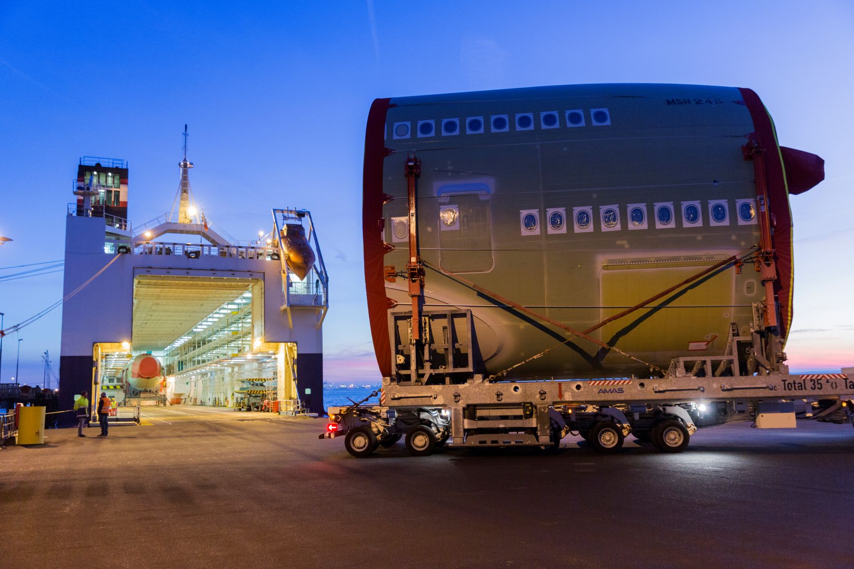 LD Seaplane 4PL logistics
