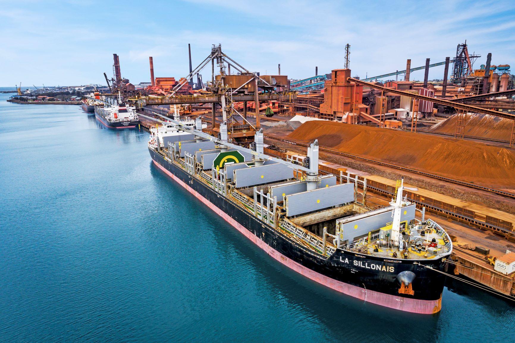 Port Kembla Australia LD BULK ASIA