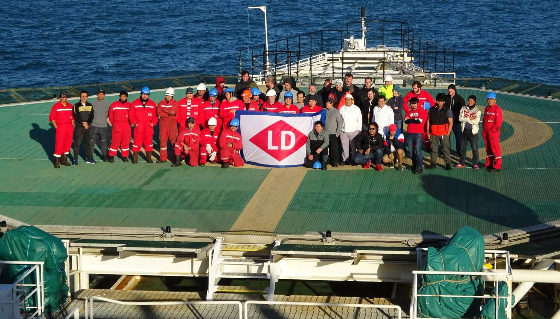 Crew LDA on board