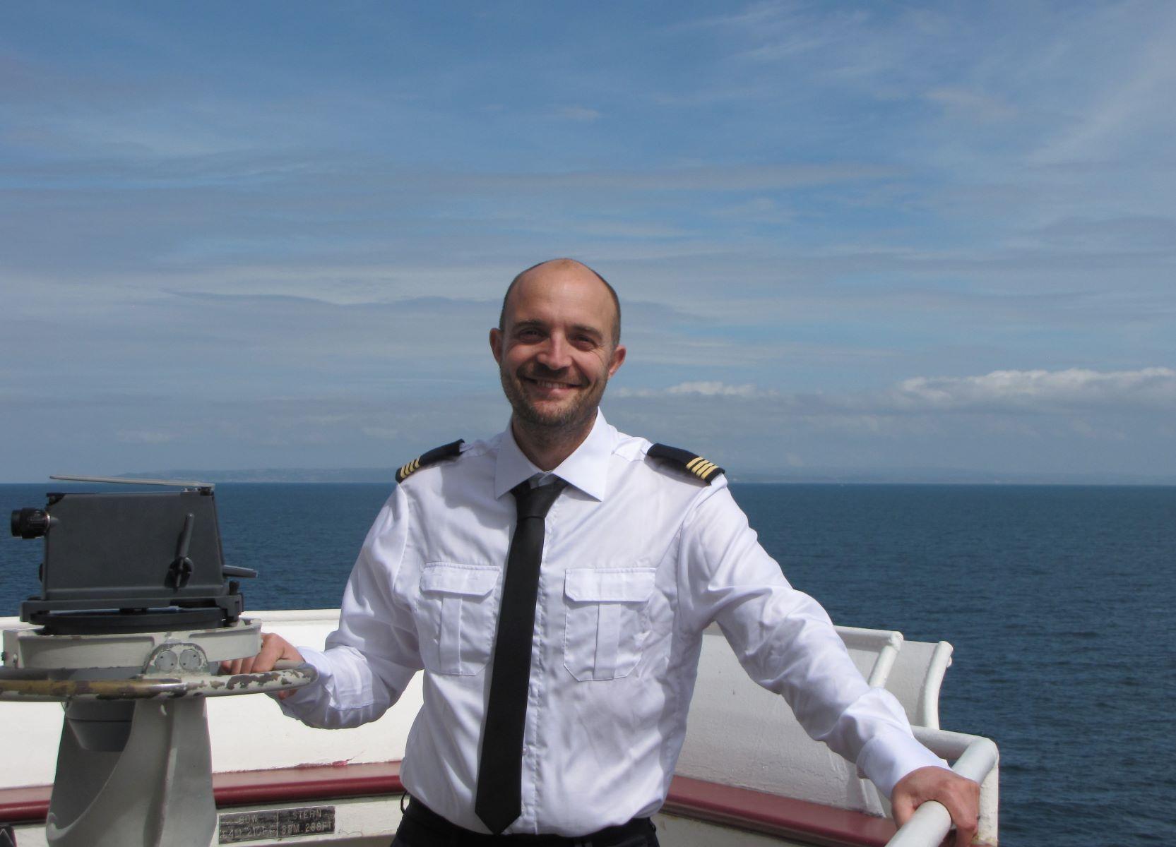 Captain Baptiste Manrot LDA