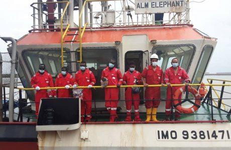 ALM Elephant crew LDPL