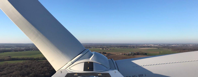 Paysage Eolienne turbine OPENR