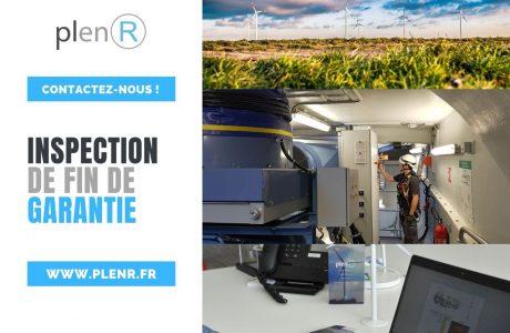 PlenR inspection de fin de garantie