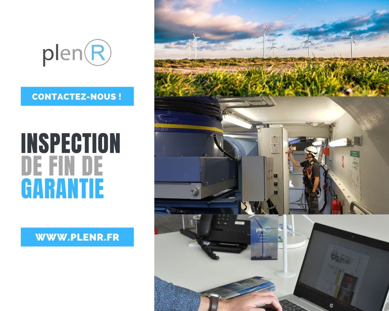 PlenR inspection de fin de garantie