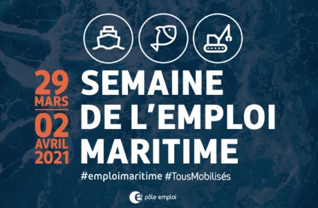 Semaine Emploi maritime 2021 France