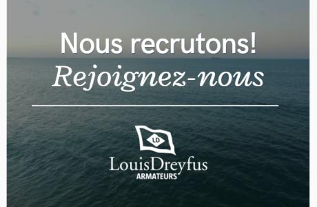 Louis Dreyfus Armateurs offres d'emplois