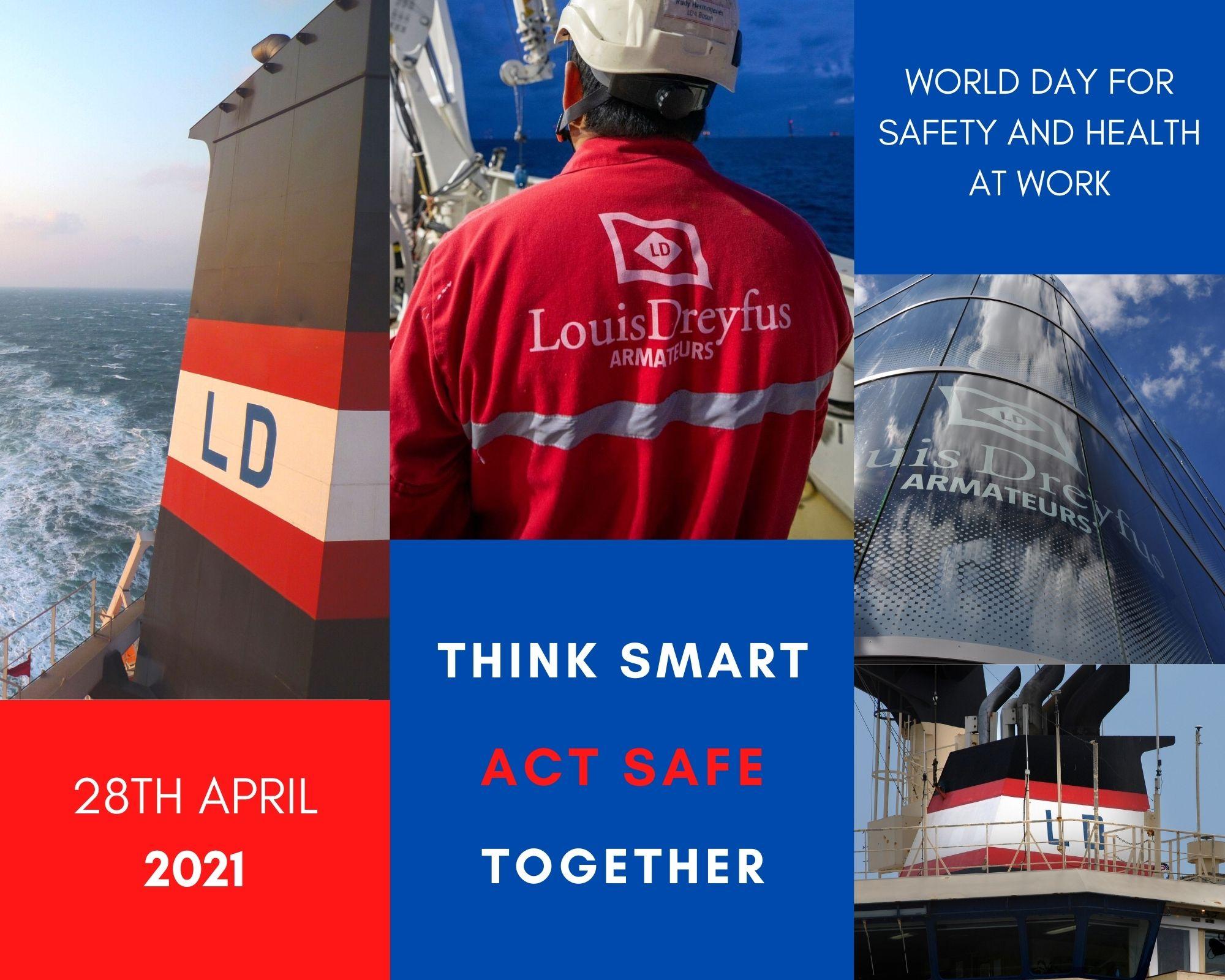 LDA Safety THINK SMART ACT SAFE TOGETHER